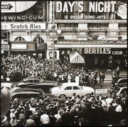 The Beatles Poster Page . 1964 A Hard Days Night Premiere Piccadilly Circus .40m