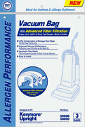 Kenmore Style O Synthetic Hepa Vacuum Cleaner Bags By Dvc Made In Usa