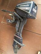 Complete Evinrude 2 Stroke 4 Hp 2 Cylin Running Outboard Dinghy Motor Engine