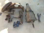 1957 Chevy Complete Manual Transmission Conversion 3 Speed Bell Housing Pedals