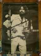 George Harrison●ultra Rare Black And White Signed Poster●1971●bangladesh Concert