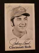 Johnny Bench Vintage Team Issue Autograph Photo Card