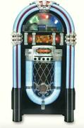 Retro Color-changing Bluetooth Jukebox Full-size Wireless Music Player