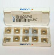 Seex 1505aftn M17 F40m Seco 10 Inserts Factory Pack
