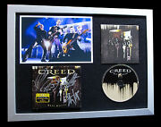 Creed+alter Bridge+signed+framed+circle+arms=100 Authentic+express Global Ship