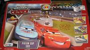 New Disney Pixar Cars Piston Cup 500 Track Set By Mattel Toys R Us Exclusive