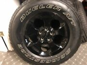2015 Jeep Jk Rims And Tires For Sale. Set Of 5 3500 Miles On Them