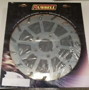 Russell Turbine Pro Polished 1984 - 1999 Rear Brake Rotor 11.5 - Right
