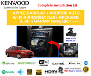 Kenwood Dnx9190dabs For Honda Accord Euro 2003-2007 Ac Controls - Stereo Upgrade