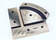 Set Of Blades For Cutting Angle For Geka Hyd 110 Ironworker Priority Shipping