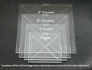 Acrylic Square Quilting Template Choice Of Sizes