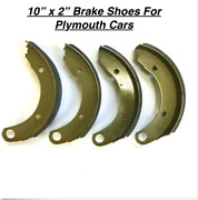 New Brake Shoes For 1946-1948 Plymouth P-15 Deluxe And Special Deluxe