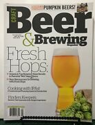 Craft Beer And Brewing Fresh Hops Pumpkin Beers Aug/sep 2015 Free Shipping Jb