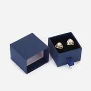 640x Jewelry Ring Earrings Studs Box Cardboard Accessories Gift Paper Boxes