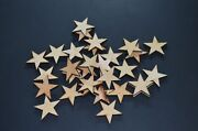 Any Size Wood Star Laser Cut Wood Star Craft Supply Star Cut Out