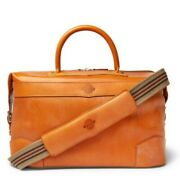 James Purdey And Sons24 Hour Leather Holdall Brand New Tan Mens Shoulder Bag