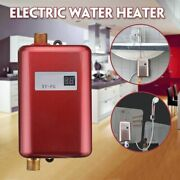 Electric Water Heater Instant Tankless Water Heater Temperature Display Heating