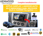 Kenwood Dnx9190dabs For Ford Focus 2005-2008 Ls-lt - Car Stereo Upgrade
