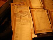 Vintage 1800and039s 1900and039s Large Song Piano Sheet Music Book Lot