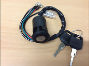 Honda Mt 50 Nc 50 Express H 100 Ignition Switch And 2 Keys 4 Wire