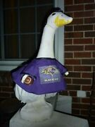 Goose Clothes 4 Lawn Geese Baltimore Ravens Football Lawn Cement And Plastic New