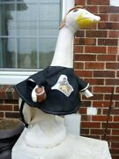 Goose Clothes 4 Lawn Geese Purdue Boiler Makers Football Cement Plastic New