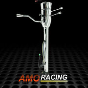 Chrome Column 28 Automatic Steering Column W/ Adapter Whithout Key Fits Hot Rod