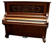 Antique Remington Upright Piano, C. 1908, Recently Tuned And Repaired