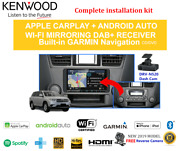 Kenwood Dnx9190dabs Car Stereo Upgrade To Suit Toyota Kluger 2007-2013