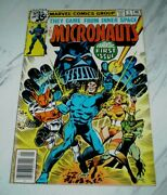 Micronauts 1 Nm- 9.2 Ow/w Pages Unrestored 1964 Marvel 1st Baron Karza