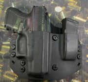 Hunt Ready Holsters Glock 26 / 27 / 33 Owb Holster With Extra Mag Carrier