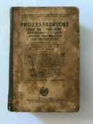 Rare Book Of The Ussr In German Prozessebericht 1938 Collectible Antiques