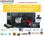 Kenwood Dnx9190dabs For Porsche Cayenne 2002-2008 Car Stereo Upgrade