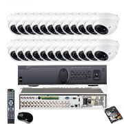 32channel 4k 8mp Dvr 4-in-1 2.6mp 2.8-12mm Zoom 36ir 24 Osd Security Camera