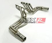 Obx Full Exhaust System For 1965-1974 Chevy Corvette Bbc Big Block 396-502