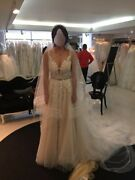 Wedding Dress Size 0 New Never Worn. Ivory Color. Designer Made With Crystals.