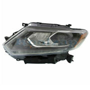 For 14 15 16 Rogue Front Headlight Headlamp Head Light Lamp W/led Drl Left Side