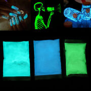 Glow In The Dark Powder Luminescent Acrylic Nail Painting Neon Fluorescent It