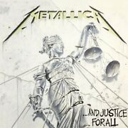 Metallica And Justice For All Lp Megadeth Anthrax Ozzy Maiden Dio Motorhead Htf