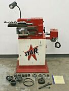 Star Machine Company1477 Disc And Drum Brake Lathe W/ Stand And Adapters