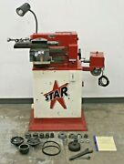 Star Machine Company 1477 Disc And Drum Brake Lathe W/ Stand And Adapters