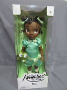 New Disney Animators 2011 1st Edition Tiana The Princess And The Frog Baby Doll