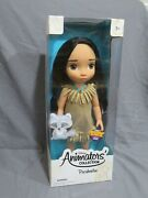 New Disney Store Animator's Collection 2011 First Edition Pocahontas Baby Doll