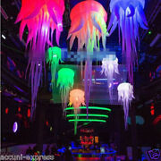 2.5m Hot Sell Glow Inflatable Medusa Jellyfish Balloon With Led Light S