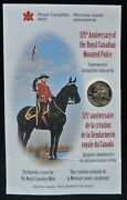 125th Anniversary Of The Royal Canadian Mounted Police Sterling Silver Pin - Rcm