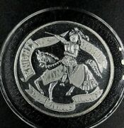 2019 Knights Of Momus .999 Silver Doubloon New Orleans Mardi Gras Comus Rex