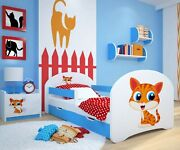 Toddler Bed Children Bed Kids Bed + Free Mattress + Free Delivery 140x70 160x80