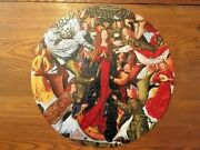 Springbok Circular Jigsaw Puzzle Mary Queen Of Heaven Complete With Box