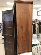 Antique Primitive Pine Cabinet 1800and039s Pantry Toy Storage Frame And Panel