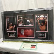 Anthony Joshua Signed And Framed Boxing Glove Rare Limited Edition Proof Aftal Coa